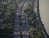صور.. تنظيم مسيرة ضخمة لمكافحة الفقر فى الفلبين