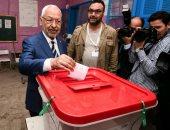 الغنوشى يدلى بصوته فى أول انتخابات بلدية تونسية بعد الثورة