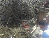نيابة بلبيس تشكل لجنتين لمتابعة انهيار مسجد البلاشون