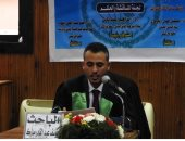 باحث سيناوى يهدى أول رسالة ماجستير فى أعراف قضاء سيناء العرفى لشهداء مسجد الروضة