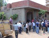 ضبط 5 متهمين فى حملة لإزالة تعديات على أراض زراعية بقرية الكرما بالسنطة
