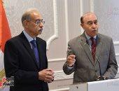شريف إسماعيل: المنطقة الاقتصادية ستلعب دورا كبيرا فى الاقتصاد المصرى - صور