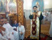 صور.. الأقباط يحتفلون بذكرى ميلاد السيدة العذراء بكفر سليمان بالسنطة