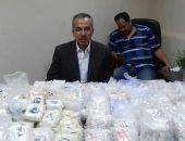 جمارك سفاجا تحبط محاولة تهريب نصف مليون قرص مخدر داخل شحنة برتقال