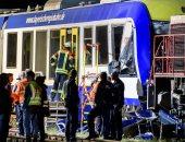 صور.. قتلى وجرحى فى تصادم بين قطارين ببافاريا الألمانية
