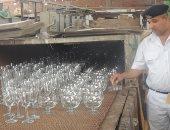 صور..ضبط 4 مصانع بدون ترخيص فى حملة مكبرة على القناطر الخيرية