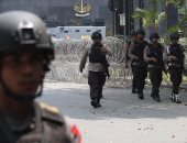 تفجير انتحارى أمام مقر للشرطة فى مدينة ميدان الإندونيسية