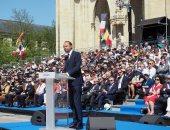 """صور.. رئيس وزراء فرنسا يشارك فى حفل تكريم القديسة """"جان دارك"""""""