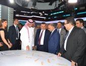 مدينة الإنتاج الإعلامى تستقبل وزراء الإعلام العرب