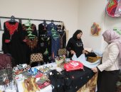 العارضون بمعرض وزارة المالية: آلية لتسويق منتجات الحرف التراثية للمدن الحدودية