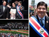 رئيس كوستاريكا يؤدى اليمين الدستورية لتولى قيادة بلاده رسميا