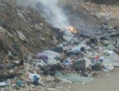 قارئ يشكو من تراكم القمامة بقرية شطانوف فى المنوفية