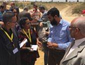 صحفيو السودان وإثيوبيا وجنوب السودان يرصدون أزمة نقص المياه فى الفيوم