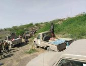 قوات الجيش اليمنى تتقدم فى مديرية حيران بحجة