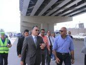 صور.. وزير النقل يتابع أعمال إنشاء محطة الصب السائل بميناء الدخيلة