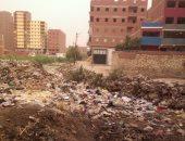 صور.. قارئ يشكو من رشاح ملىء بالقمامة بعزبة البقوشى فى الخصوص
