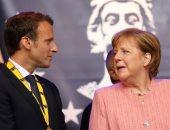 صور.. ماكرون لميركل: عليكى التحرك بسرعة لإصلاح الاتحاد الأوروبى