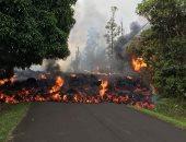 صور.. الحمم البركانية تواصل التهام الأخضر واليابس فى ولاية هاواى الأمريكية