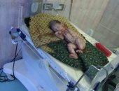 العثور على طفل حديث الولادة أمام مسجد فى دمياط