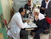 قافلة طبية بقرية بيلا فى كفر الشيخ وصرف العلاج مجانا