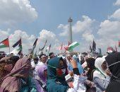"""المئات من عرب إسرائيل يتظاهرون فى حيفا ضد """"الحرب على غزة"""""""