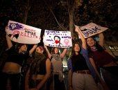 صور.. مسيرات نسائية فى تشيلى للتنديد بالعنف ضد المرأة