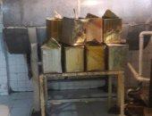 ضبط 5 آلاف كيلو عسل بمصنع غير مرخص بحملة فى شبين القناطر