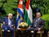صور.. رئيس كوبا يؤكد لأبو مازن تأييد بلاده لإقامة دولة فلسطينية