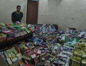 حجز عاطلين لحيازتهما 19 ألف قطعة ألعاب نارية فى الساحل