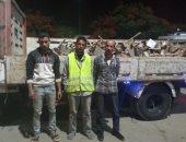 سقوط 3 أشخاص وراء سرقة 500 قطعة حديد من موقع إنشاء كوبرى حلوان الدائرى