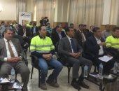 صور.. وزير البيئة يتفقد شركة أسمنت أسيوط لمتابعة استخدام الوقود البديل