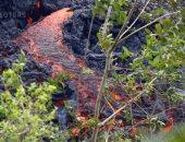 صور.. تدفق المزيد من الحمم البركانية فى ولاية هاواى الأمريكية