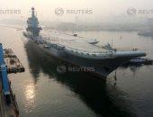 صور.. أول حاملة طائرات صينية مصنعة محليا تبحر فى رحلة تجريبية