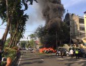 مصرع 10 أشخاص فى انفجار سيارة عند نقطة تفتيش عسكرية جنوب الفلبين