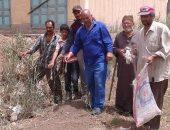 حملة مكبرة لمكافحة القوارض للمحاصيل الزراعية بدمياط