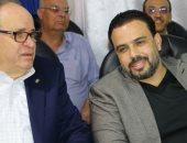 كرم كردى وأحمد الكأس يشاركان فى افتتاح ملعب سيدى بشر