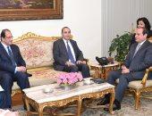 رئيس الاستخبارات الفرنسية يؤكد للسيسى حرص بلاده على التنسيق المستمر مع مصر