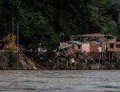 صور.. إجلاء أكثر من 600 شخص شمال شرق كولومبيا بسبب الفيضانات