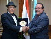 رئيس مجلس إدارة مستشفى البحرين الدولى فى ضيافة جامعة طنطا