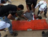 استشهاد مواطن فلسطينى وإصابة 3 جنود إسرائيليين على حدود غزة