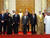 صور.. الرئيس السيسي يستقبل وزراء الشباب والرياضة العرب
