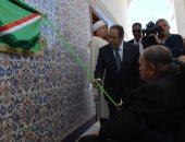 الرئيس الجزائرى يزور المسجد الأعظم بالعاصمة فى ثانى ظهور منذ بداية العام