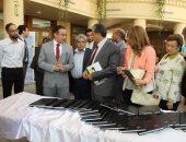 صور.. وزير البيئة يزور جامعة أكتوبر للعلوم الحديثة ويعقد حوارا مع الطلاب