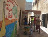 خدمات الشباب بشمال سيناء تنفذ مشروعا بيئيا فى العريش