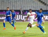 صور.. انطلاق مباراة الزمالك وسموحة فى نهائى كأس مصر