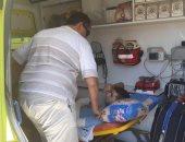 نقل ثانى مصاب فلسطينى من قطاع غزة للمستشفيات المصرية