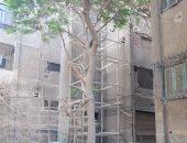 قارئ يشكو البناء المخالف بمدينة المبعوثين فى مدينة نصر