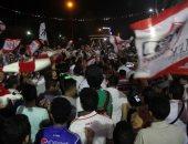 صور وفيديو.. جماهير الزمالك تحتفل بكأس مصر فى القلعة البيضاء