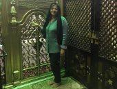 """هالة صدقى تحتفل بـ""""رمضان"""" من مسجد السيدة نفيسة: كل سنة والبشرية بخير"""