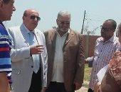 وكيل وزارة الإسكان بالمنوفية يتفقد أعمال الإنشاءات بمبنى مرور قويسنا